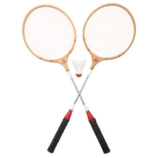 Old School Scorpion Badminton Racquets, A Pair