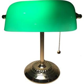 Retro Inspired Brass Desk Lamp