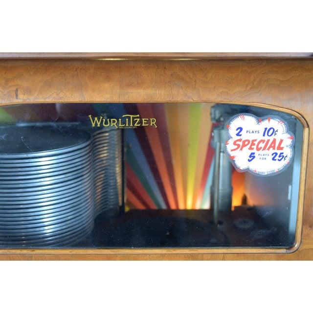 Image of Wurlitzer Model 24 Coin Op Jukebox C.1937