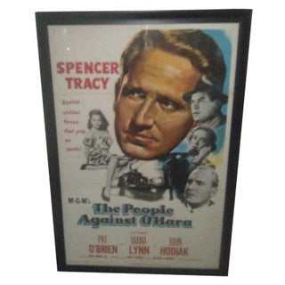 Vintage Movie Poster - The People Against O'Hara