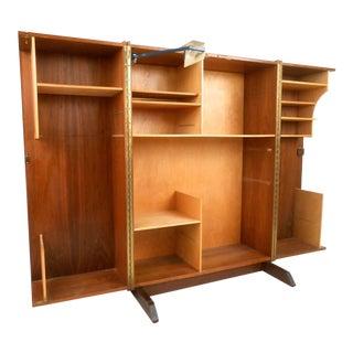 "Mid-century Modern ""magic Box"" Mummenthaler Meier Style Folding Teak Desk"