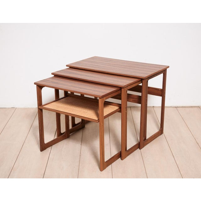 Johannes Andersen Nesting Tables - Image 2 of 11