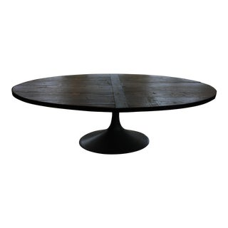 Restoration Hardware Aero Reclaimed Wood Dining Table