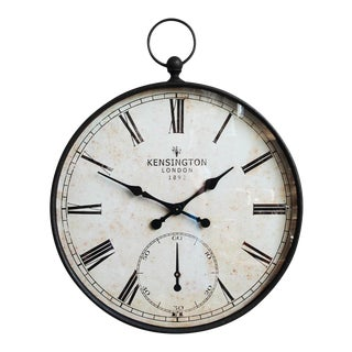 Oversize Kensington Wall Clock
