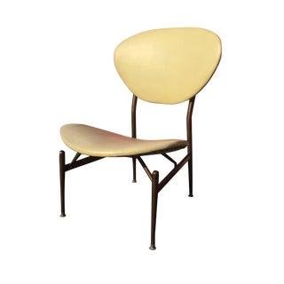 Mid-Century Modern Metal Framed Chair