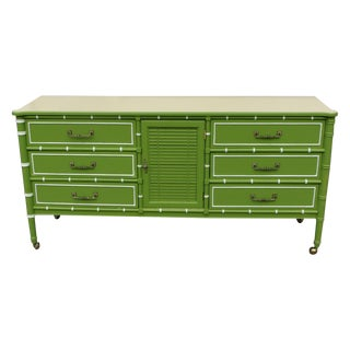 1960's Apple Green Dresser