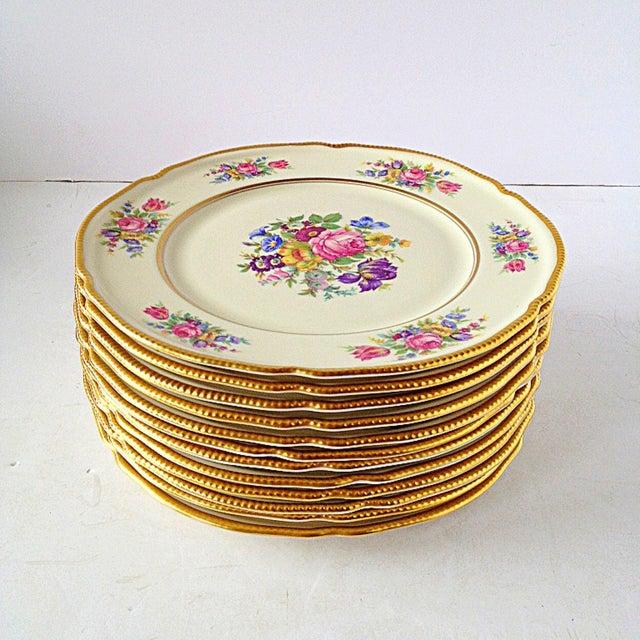 Image of Castleton Rose Salad Plates - Set of 12