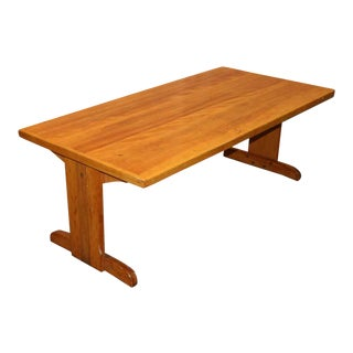 Five Foot Wooden Work Table
