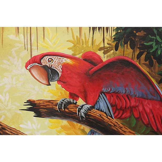 Tropical Oil on Canvas - Image 3 of 5