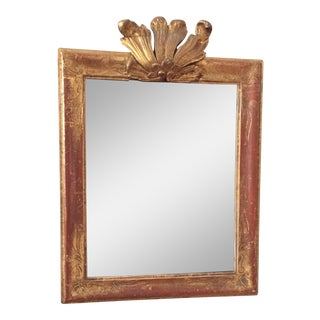 18th Century French Crested Mirror