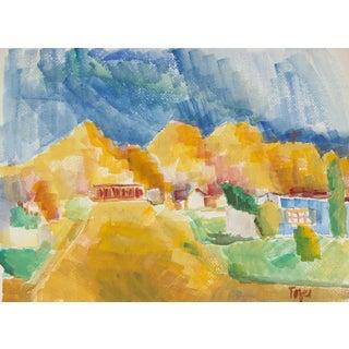 Jennings Tofel Southwest Watercolor Scene