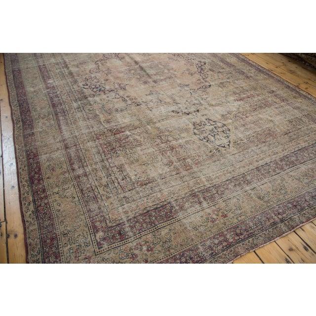 "Antique Persian Kerman Carpet - 9' X 13'1"" - Image 7 of 10"