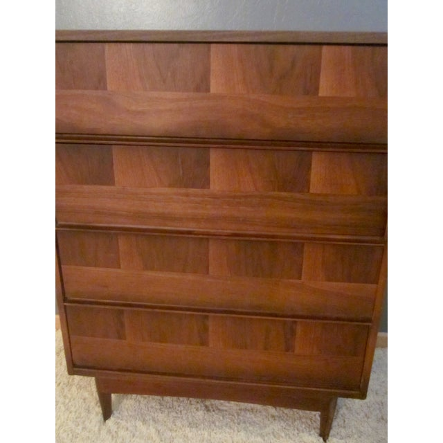 Mid-Century Modern Highboy Dresser - Image 7 of 7