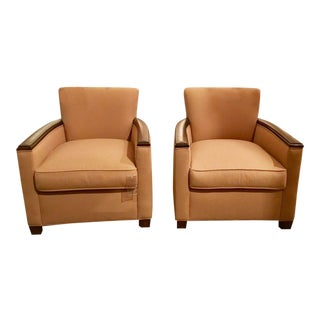 A Pair of Pearson Co. Theodora Chairs