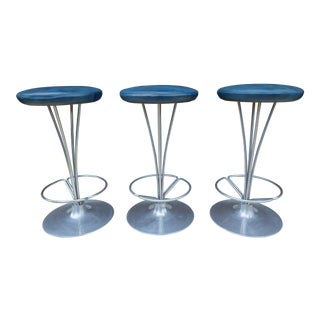 Fritz Hansen Model 7112 Counter Stools - Set of 3