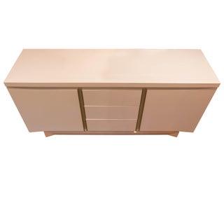 Mid-Century White Lacquer Dresser