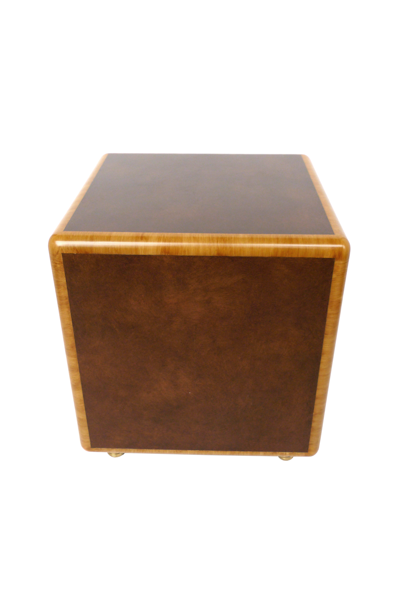 Cube End Table In The Manner Of Paul Frankl Chairish