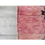 Image of Pink Moroccan Azilal Runner - 2′11″ × 5′5″