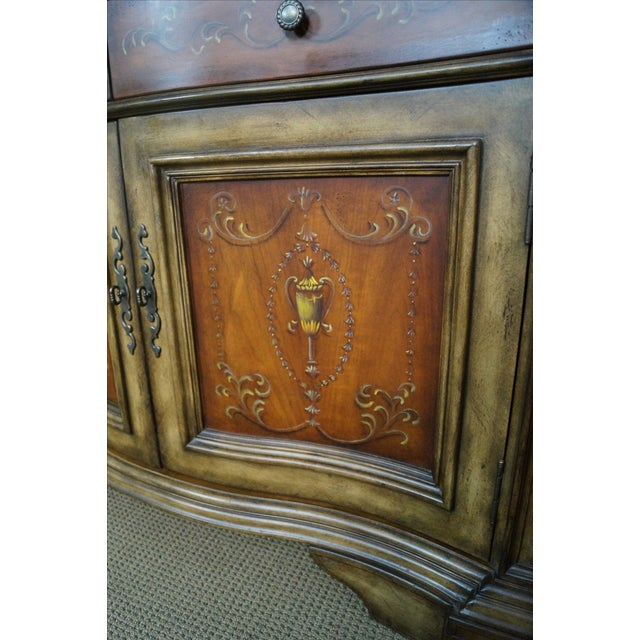 Hooker Serpentine Hutch-Style Credenza - Image 7 of 9