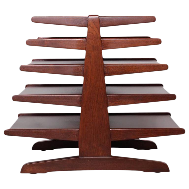 Magazine Tree Table By Edward Wormley For Dunbar