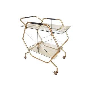 Gio Ponti Style Italian Bar Cart