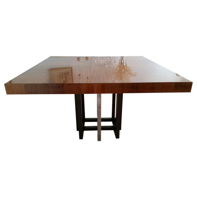 Image of Lorin Marsh Vintage 1980 Dining Table