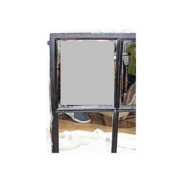 Iron Framed Mullion Mirror - Image 4 of 5