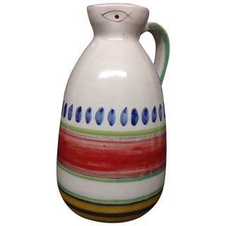 Desimone Hand-Decorated Italian Pitcher