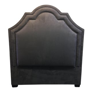 Brown Twin Size Upholstered Headboard