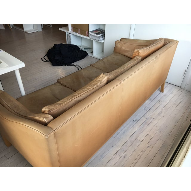 Image of Vintage Danish 3 Seat Sofa From Stouby
