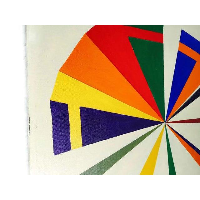 Vintage Geometric Modern Canvas Art Set - Image 2 of 6