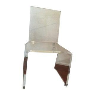 Mid-Century Modern Lucite Chair