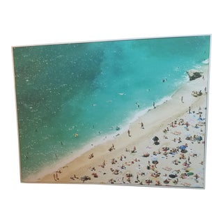 Oversized Framed Beach Photo