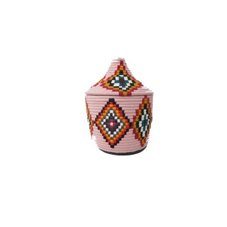 'Elle' Moroccan Woven Bread Basket