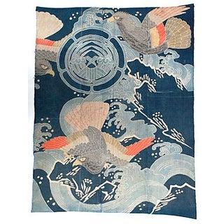 19th Century Tsutsugaki Marital Futon Cover