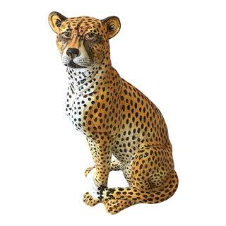 Terra Cotta Italian Made Cheetah