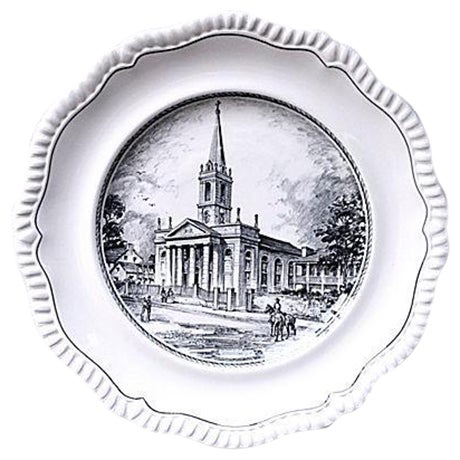 """Copeland Spode's """"The Cathedral"""" Plate - Image 1 of 5"""