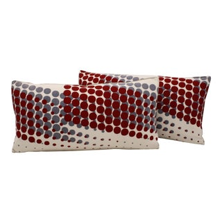 Japanese Graphic Bolster Pillows- A Pair