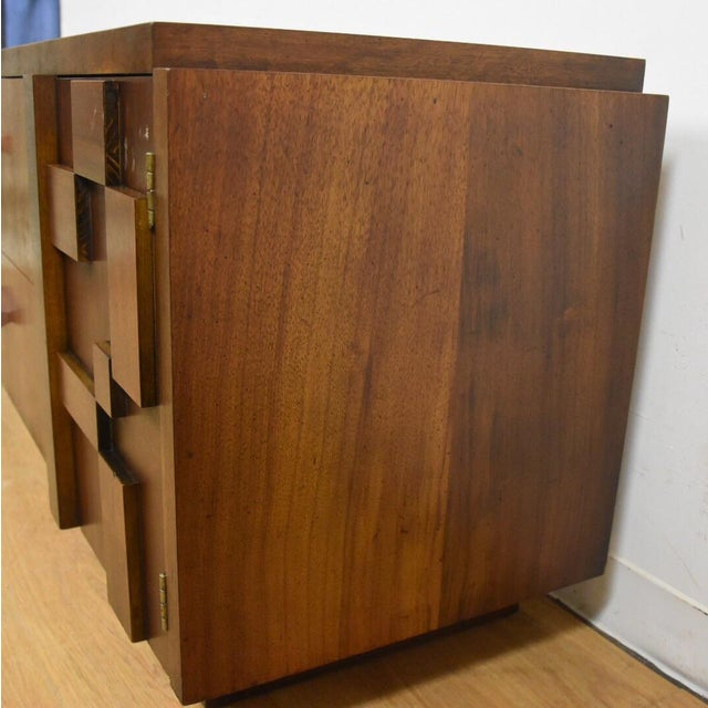 Lane Brutalist Console Credenza - Image 8 of 10