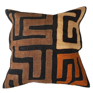 African Kuba Cloth Pillow Case