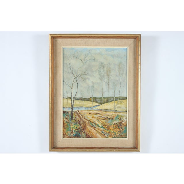 1938 Painting 'Where Two Streams Meet' - Image 2 of 3