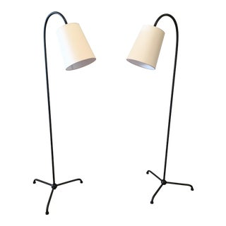 Visual Comfort Mia Floor Lamps - A Pair