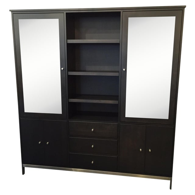 Room & Board Linear Charcoal Custom Cabinetry - Image 1 of 9