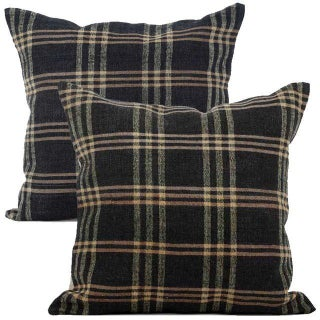 Vintage Ralph Lauren-Style Pillows - A Pair