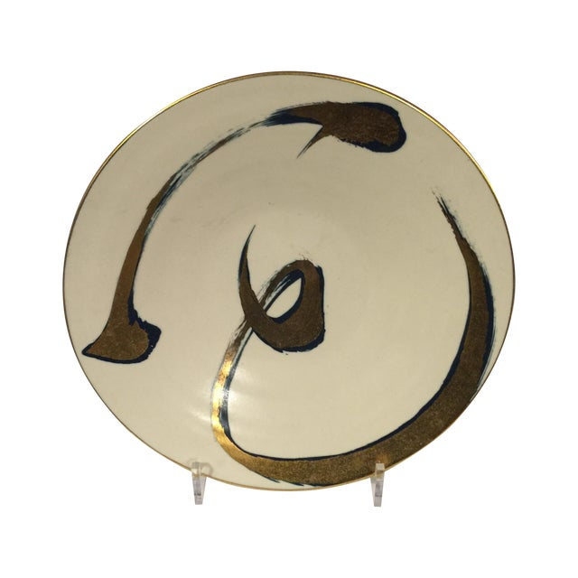 Image of Mid Century Porcelain Plate