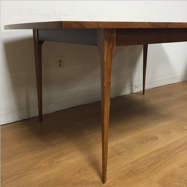 Broyhill Walnut Dining Table - Image 4 of 9