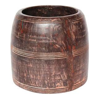 Wooden Medicine Pot