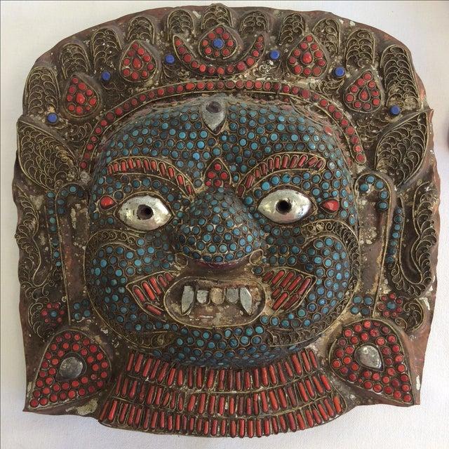 Large Buddhist Mask - Image 2 of 3