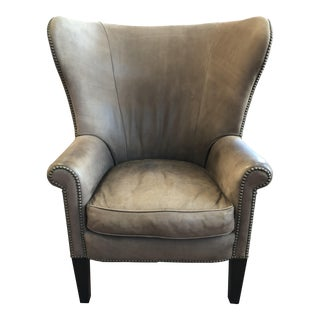 Ralph Lauren Home Leather Kerry Chair