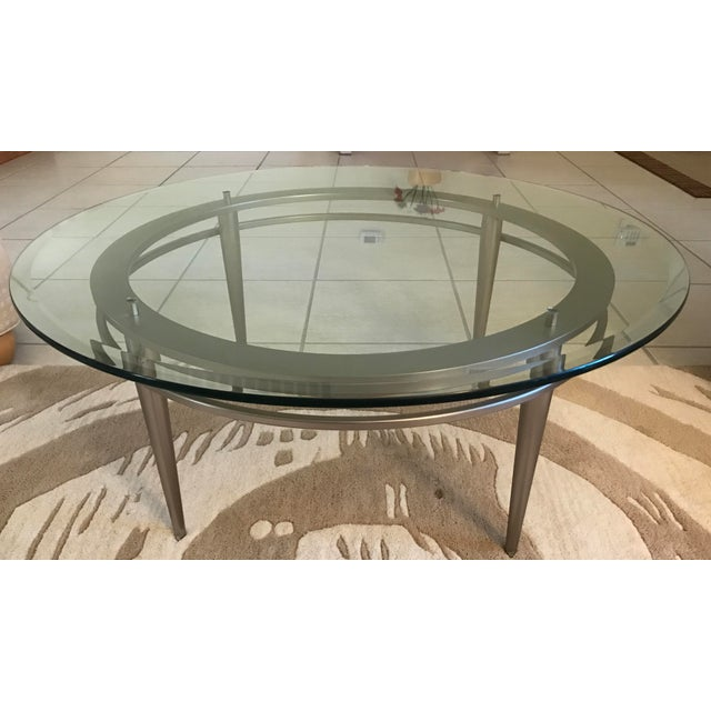 Ethan Allen Trevor Coffee Table: Ethan Allen Modern Coffee Table